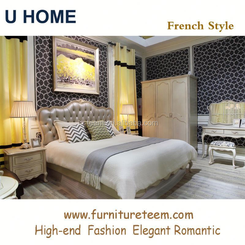 www.furnitureteem.com high end solid wood French style furniture baby bedroom furniture