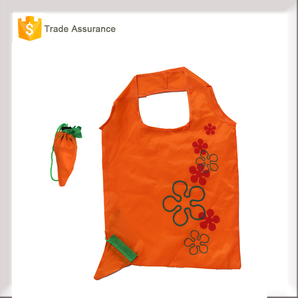 Factory Direct Supply 190T Polyester Reusable Shopping Bag