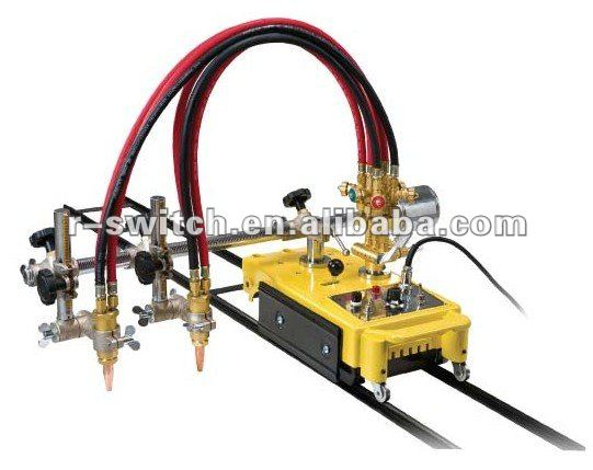 CG1-100 double head straight line flame cutting machine