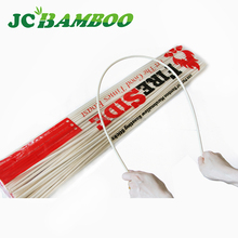 Free sample disposable bbq custom 40cm bamboo skewer in bulk