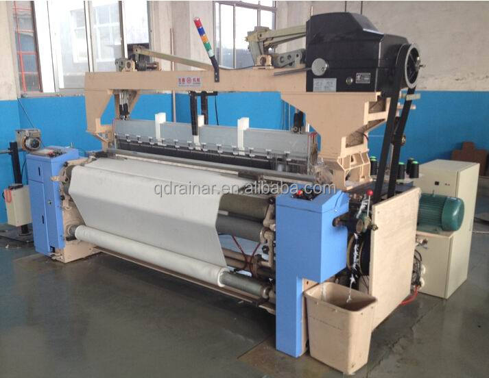 hi-speed low noise fabric weaving air jet looms