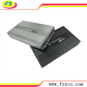 With Standard USB 3.5'' IDE External HDD Case