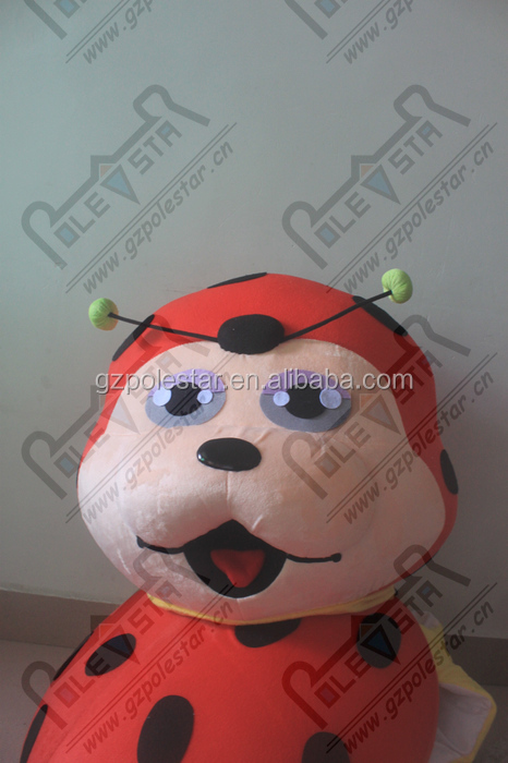 new ladybug mascot costumes character insect walking disguise