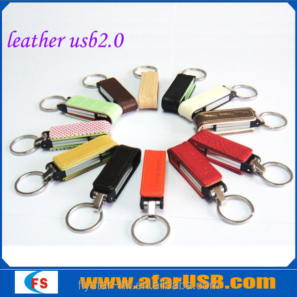 Hot Selling New Design Leather USB, Best Promotion Gift High Quality Leather USB Flash Drive