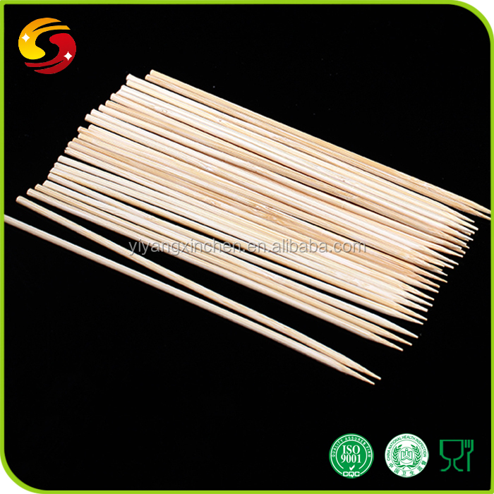Convinience Disposable Fruit Bamboo Sticks