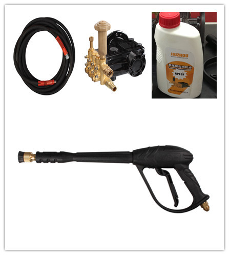 8Mpa electric high pressure water pump car washer spray gun