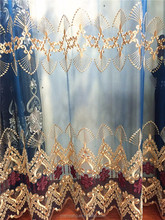 A109-S2 Worth Buying Charming Blue Best Cheap Sale Royal Curtain Fabric