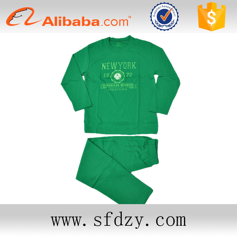2016 Alibaba supply new product and soft kids thermal pajamas