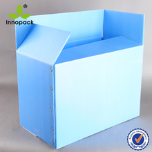 Folding Corrugated PP Hollow Sheet plastic packing box