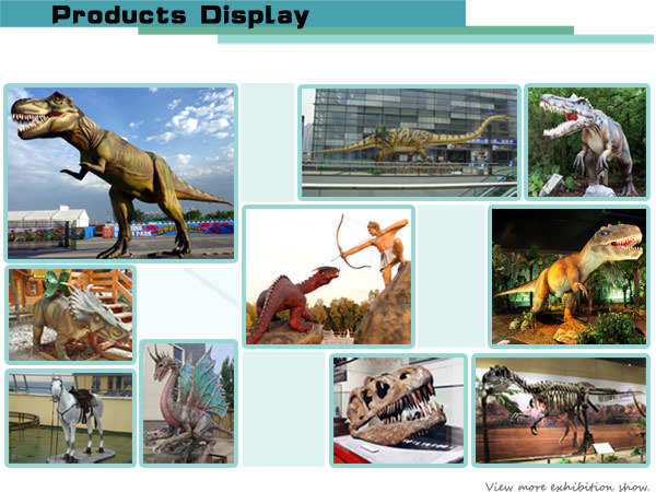 Remote Control Animal Model Life Size Giraffe Statues