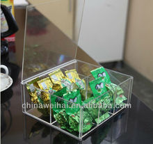 Clear Acrylic Tea Display Box