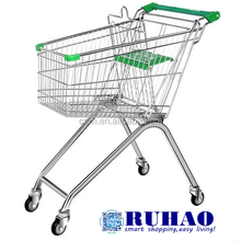 2017 Sales No. 1 Style Europe Feet Metal Shopping Trolley