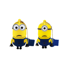 PVC Minions Cartoon Anime Concrete USB Flash Drive Printer