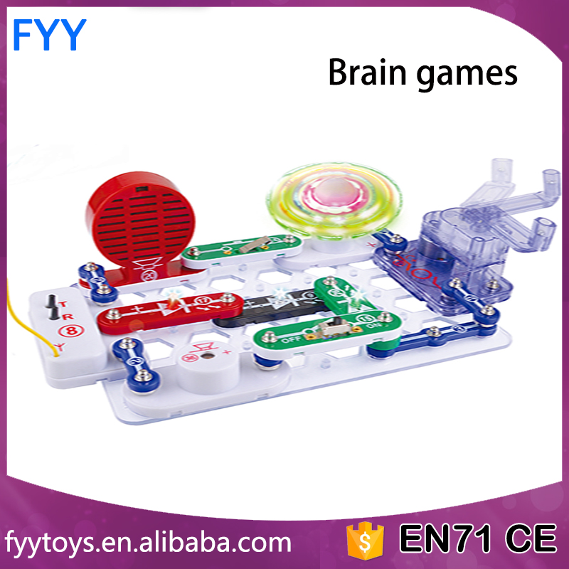 Novelty electronic circuit blocks Science Kit For Kids