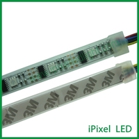 pixel pitch 32.25mm full color led flex strip ws2801 , 32LED/m