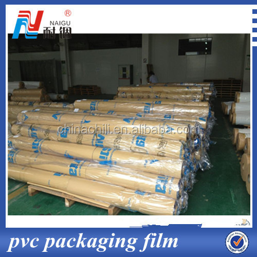 Beat quality soft super clear pvc film transparent