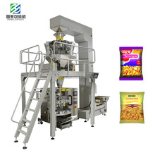 Snack Food Irregular Shaped Sachet Packing Machine with Multi-heads Scale