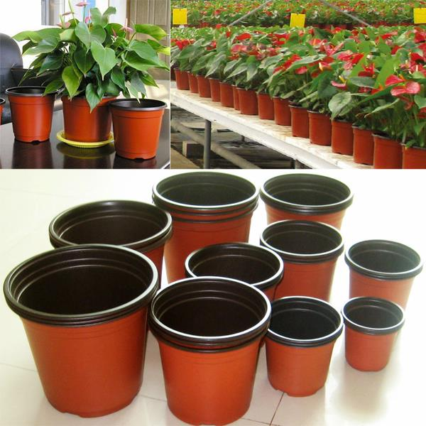 Home & garden red bonsai pots planters for wholesales