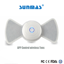 Sunmas sm9187 APP phone wireless bluetooth control Promotion tens unit for sex slimming