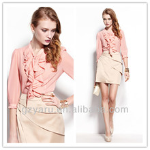 office lady dresses blouses new design fashion 2013