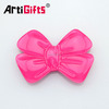 Bowknot design resin accessory for garment
