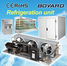 r404a cooling compressor condensing refrigeration unit for true commercial refrigerators island display case