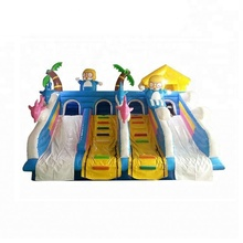 Adult giant size inflatable water slide