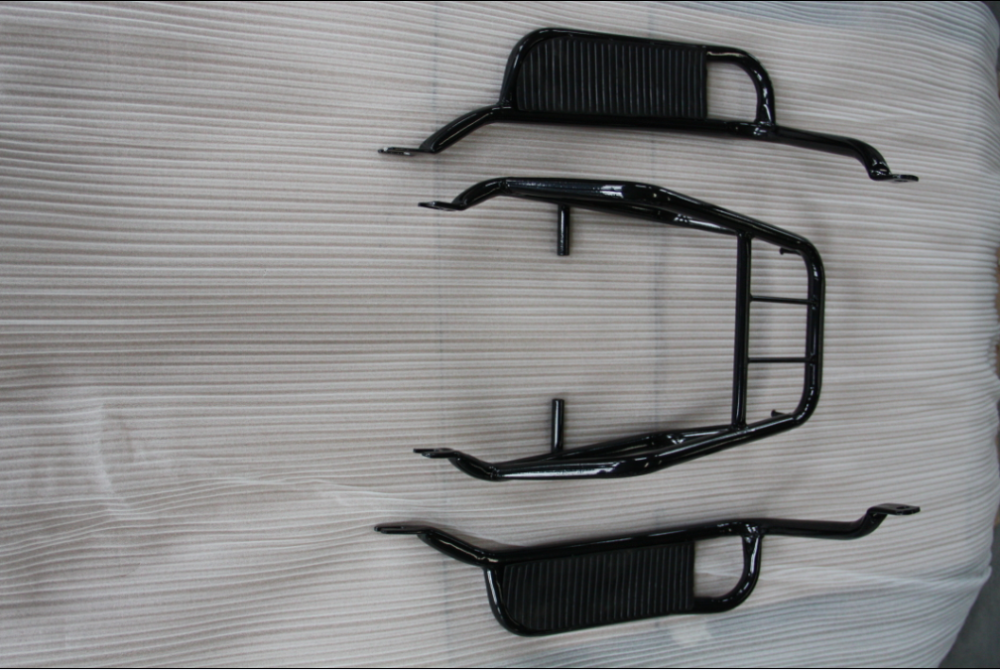 cheap spare parts motorcycle luggage carrier rear carrier
