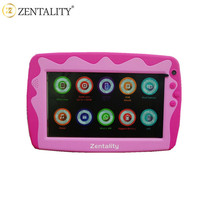 Child study mini pad Android quad core tablet with TF card zentality 7 inch children tablet pc