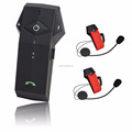 Blutooth motorcycle helmet two way radio headset intercom for rider