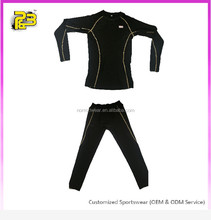 high quality dry fit custom compression clothing women compression suit wholesale