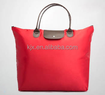 Capacity Folding Shopping Bag for Lady Custom Logo
