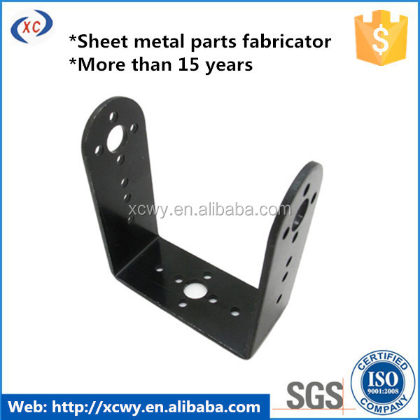 Custom metal stamping for air conditioner bracket
