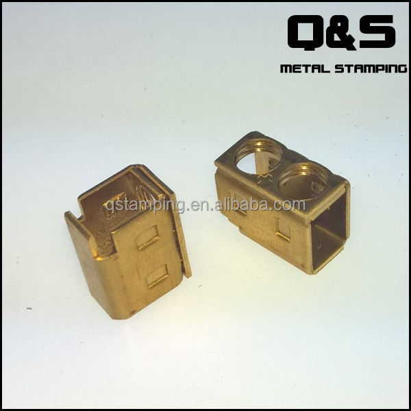 custom Relays screw terminal block, copper stamped connector terminal
