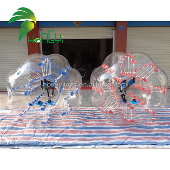 inflatable human body inflatable bumper bubble ball