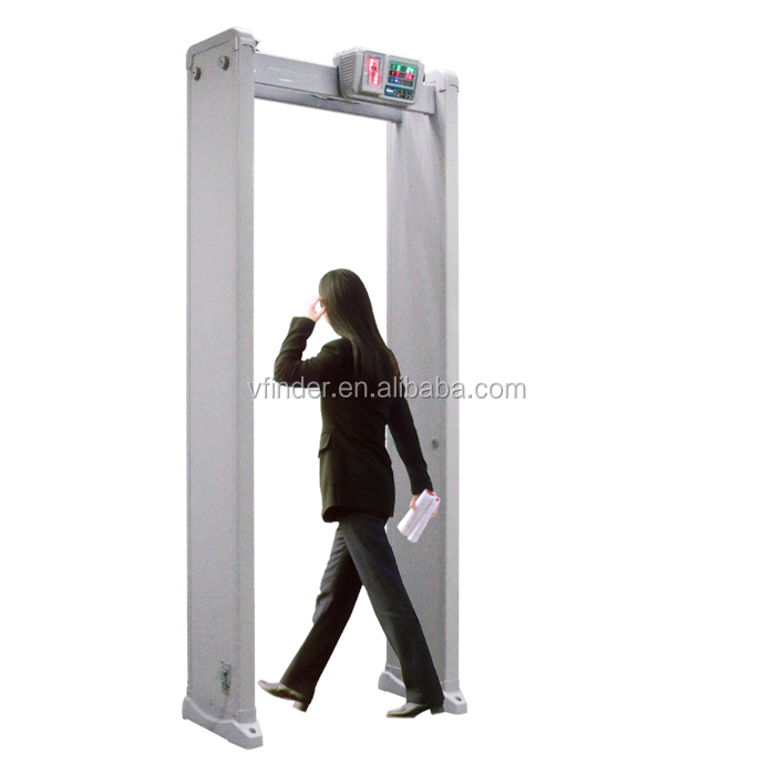 public security and safety archway walk through metal detector