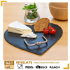 Natural heart style slate cheese board with high quality for sale