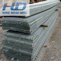 Hot-dipped Galvanized serrated steel bar gratings