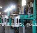 Induction furnace melting 100kg capacity