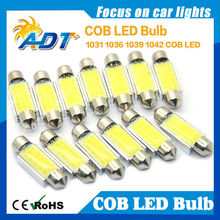 5W COB Led 39mm bulbs, White Car Ceiling Dome Lights