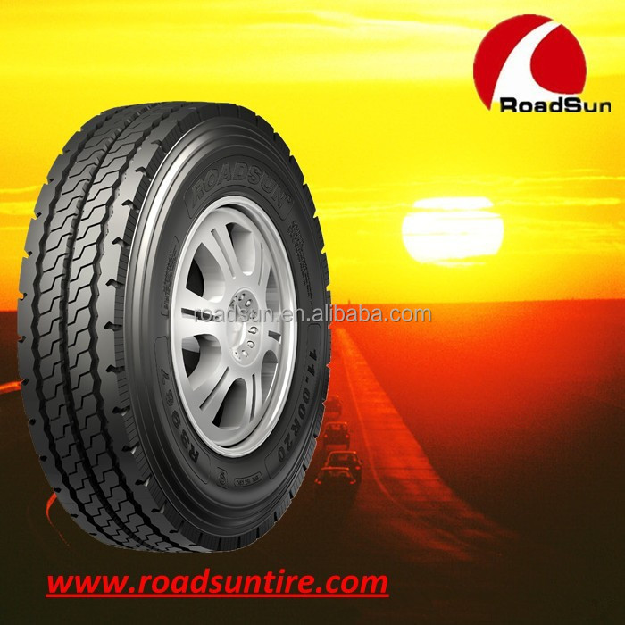 New China ROADSUN radial truck tyres on sale truck tyre 1000R20 price