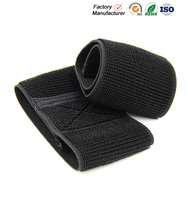 Soft hook and loop elastic fasteners tape