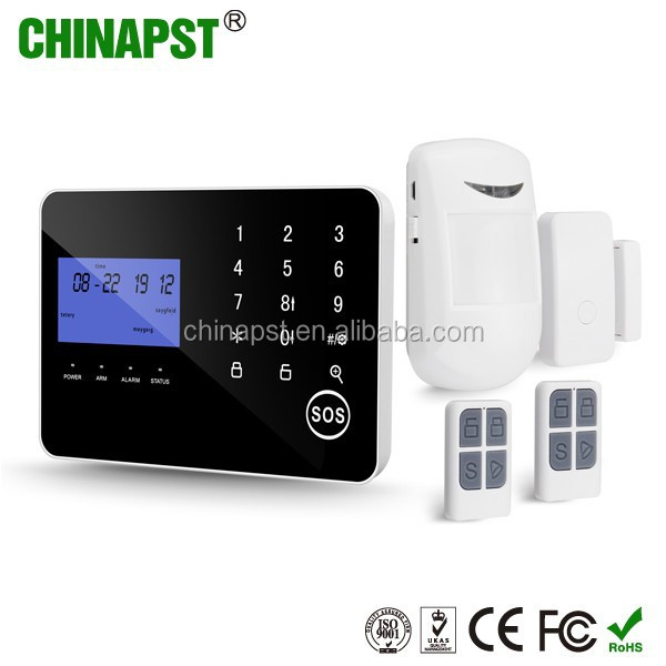 2017 Good Quality China Factory GSM/PSTN dual network security burglarproof home alarm system gsm PST-PG994CQT