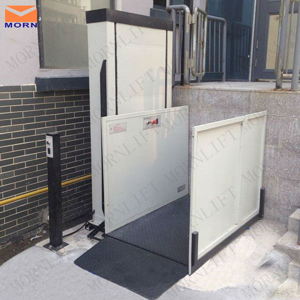 Morn Hydraulic disabled lift electric wheelchair lift