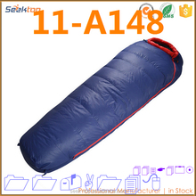 2017 Hot Selling Nylon Moms Down Inflating Couch Double Rectangular Sleeping Bag