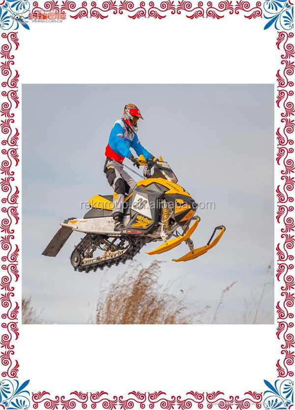 Automatic Adult petrol snow scooter chinese snowmobile for sale with CE approved
