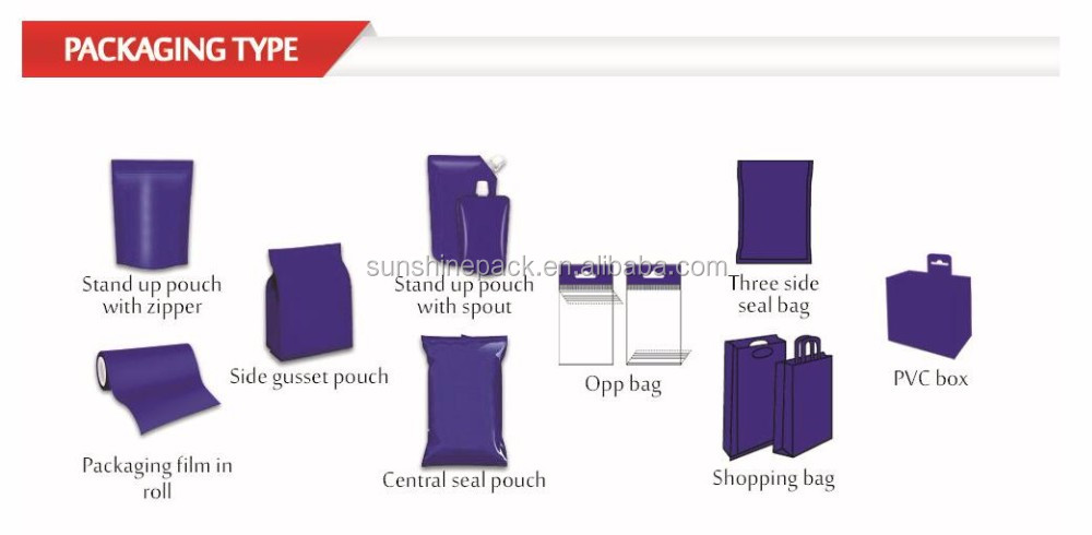 Excellent quality promotional ziploc bags large for garment packing