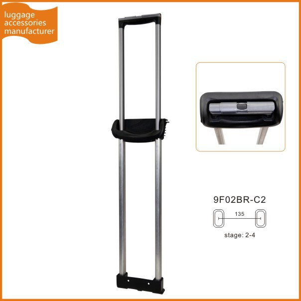 Guangzhou JingXiang Retractable Suitcase Handle Detachable Luggage Handle For Suitcase Trolley