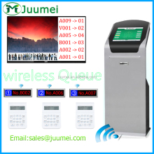 Bank multiple queue management system with good software