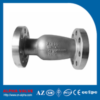 High Quality Flanged Axial Flow Nozzle Check Valve